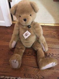 "Boyds Bear 30"" Randell Q. Hugsley Huge Rare RETIRED Excellent"
