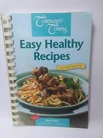 Company's Coming EASY HEALTHY RECIPIES by Jean Pare 1999 1ST PRINTING Cookbook