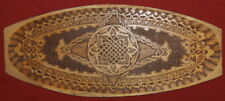 Vintage Handcrafted Pyrography Wood Plaque
