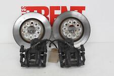 2015 AUDI A3 S3 Quattro Pair of Left Right Rear Brake Discs & Calipers (447476)