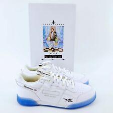 Reebok Men's Workout Plus 3:AM NOLA PACK White/Black (DV4594) Sneaker, Size 9
