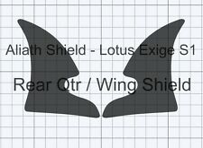 Lotus Exige S1 rear qtr CLEAR Stone chip guard Protection Decals foils film
