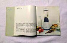 electro-as piccolo Handbuch Küchenmaschinen mit Rezepten aus 50/60er Jahre