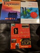 Photography Book Lot: Understanding Exposure, Learning to see Creatively, A-Z