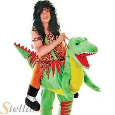 Adult Step In Ride On Dinosaur Costume T-Rex Halloween Mens Ladies Fancy Dress