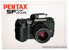 Pentax notice d'utilisation pentax sfxn user manual Caméra Mode d'emploi (x2545