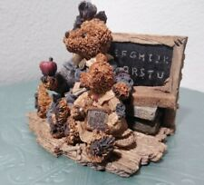 """Boyds Bears And Friends Collection """"Miss Bruin and Bailey. The Lesson"""""""