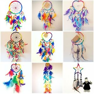 Dream Catcher Rainbow Multi Coloured Dreamcatchers Kids Room Hanging Decoration