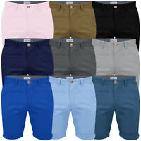 Mens Chino Shorts Casual Stallion Summer Cotton Cargo Combat Half Pant Jeans New