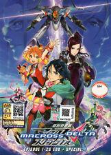 Macross Delta DVD Complete 1-26 + Special (Japanese Ver) Anime - US Seller FAST