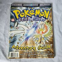 Pokemon Gold & Silver Nintendo Power Strategy Guide Player's Guide Official!
