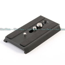 501PL Sliding Dovetail Quick Release Plate fr Manfrotto 501 503 701 HDV RC5 Head