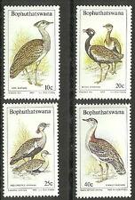 Bophuthatswana - Trappen postfrisch 1983 Mi. 112-115