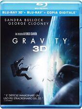 Gravity Blu-Ray 3 D +Blu ray+ Copia Digitale