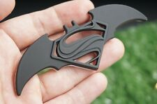 3D Metal Superman Vs Batman Auto Logo Badge Decal Moto Emblems Car styling Black