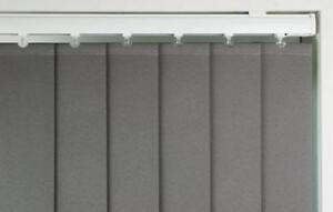 """Vertical Blind Slats - 89mm (3 1/2"""")  - Made to Measure - Polaris - 33 Colours"""