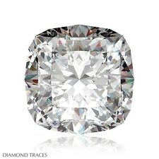 1.41ct H-VS2 Ideal Cut Square Cushion AGI 100% Genuine Diamond 6.13x6.00x4.37mm