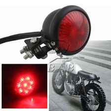 Black Red Lens Motorbike Motorcycle Bates LED Tail Brake Light ATV Dirt Bike