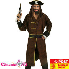 Mens Pirates Of The Caribbean Captain Jack Sparrow PRESTIGE Adult Costume HAT