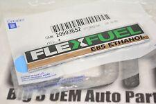 2007-2013 Chevrolet GMC Cadillac E85 Ethanol Flex Fuel Rear Gate EMBLEM new OEM
