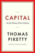 Capital in the Twenty-First Century by Thomas Piketty (Hardback, 2014)