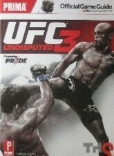 UFC3 UNDISPUTED OFFICIAL GAME GUIDE GEORGES ST PIERRE KARATE MARTIAL ARTS