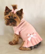 M Baby Pink T Shirt Dog Dress clothes pet apparel Clothing Medium PC Dog®