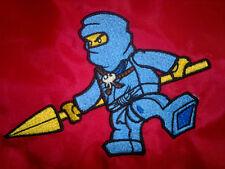 Personalised Lego Ninjago Jay School/PE/Gym/Baby/Drawstring Bag