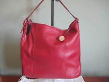 "NWT! FURLA - New Blossom L Bag, Red (2""x15""x13.5"")"