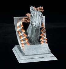 "Mustang, 4"" tall Resin School Mascot Trophy, Free Engraving"