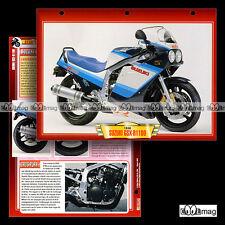 #045.01 Fiche Moto SUZUKI GSXR 1100 1986-1993 Motorcycle Card