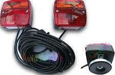WilliamsTrailer boat Bike rack MAGNETIC lights rear towing lamps cable wired 7M