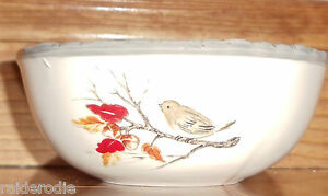 Bird in Tree Soup Bowl by Kate Williams made for Global Design Connections