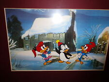 Chilly Willy, Splinter & Knothead Original Animation Cel from Universal Studios