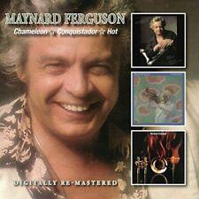 MAYNARD FERGUSON - CHAMELEON/CONQUISTADOR/HOT 2 CD NEU