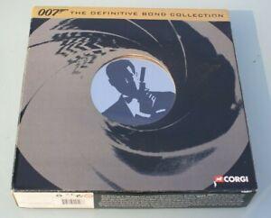 James Bond 007 - The Definitive Bond Film Canister 4 Piece Set by Corgi CC99106