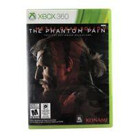 Metal Gear Solid V: The Phantom Pain (Microsoft Xbox 360, 2015) No Manual