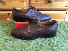 SAVILLE ROW : Men's Brown Country Grain Leather Brogues Shoes : UK 8.5