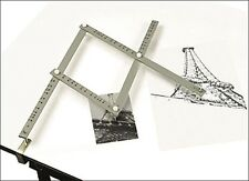 Jakar Artists Wooden Pantograph Enlarges Reduces Re-scales Images Drawings 18""