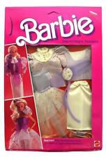 "1984 Barbie Day-to-Night Fashions ""Teacher"" Purple & White Outfits #9085 NIP"