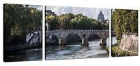 Quadro Moderno Stampa Su Tela Canvas Cm 208x70 Quadri Moderni XXL Città Vaticano