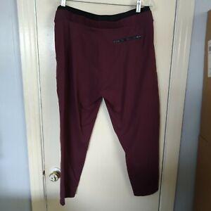 Athleta Women's Size Large Petite Purple Venice Pintuck Pants EUC