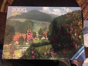 2000 PIECE PUZZLE RAVENSBURGER IM SCHWARZWALD BLACK FOREST NEW