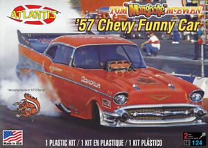 H7172 Tom McEwen 57 Chevy 1/24 scale Atlantis mint in sealed box