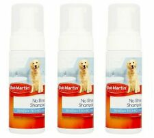 3 x Bob Martin No Rinse Waterless Shampoo For Dogs Renew+ Tecnology 150ml