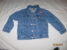 Harley Davidson Denim Jacket Coat Youth 4/5 Kids Boys HD Motorcycles