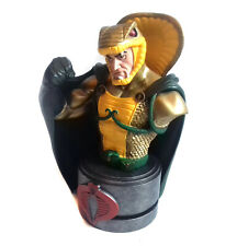 GI JOE SERPENTOR Limited Edition Collectors Figure Statue Bust By Palisades RARE
