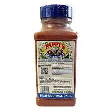 PAPPY'S Blue Cap Choice Seasoning 50% Less Salt Spice BBQ Rub 28 OZ Professional
