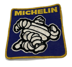 Vintage Michelin Tires Uniform Patch Featuring Tire Man