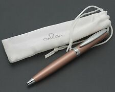 NEW Omega Executive Ballpoint Pen with Gift Bag Carrying Pouch